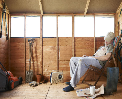 Creating A Man Cave Without Breaking The Budget Shademaster